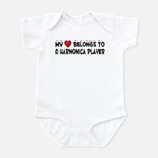 Belongs To A Harmonica Player Infant Bodysuit