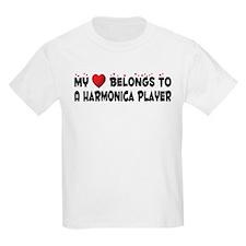 Belongs To A Harmonica Player T-Shirt