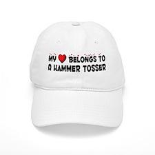 Belongs To A Hammer Tosser Baseball Cap