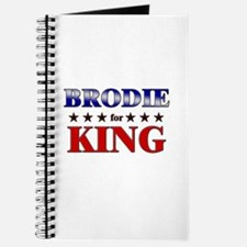 BRODIE for king Journal