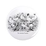 """Shortface Tumbler Pigeons 3.5"""" Button"""