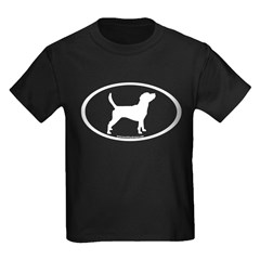 Beagle Dog Oval T