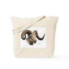 Ram Sheep Horn Tote Bag