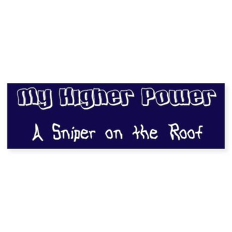 Higher Power Sticker