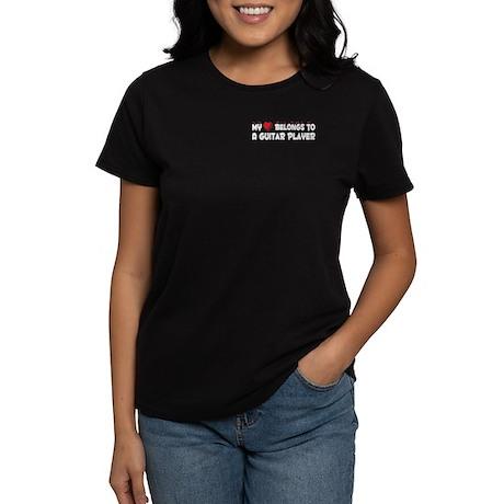 Belongs To A Guitar Player Women's Dark T-Shirt