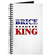 BRICE for king Journal