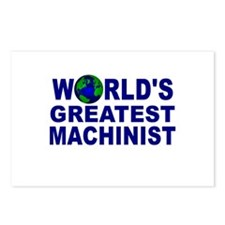 World's Greatest Machinist Postcards (Package of 8