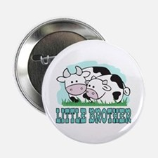 """Cows Little Brother 2.25"""" Button"""