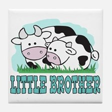Cows Little Brother Tile Coaster