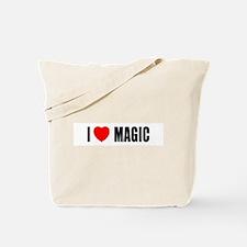 I Love Magic Tote Bag
