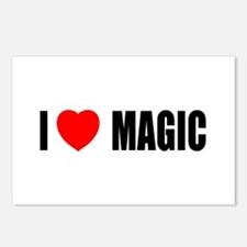 I Love Magic Postcards (Package of 8)