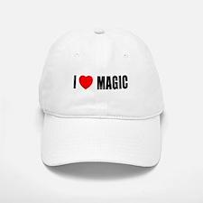 I Love Magic Baseball Baseball Cap