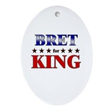 BRET for king Oval Ornament
