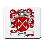 Faust Family Crest Mousepad