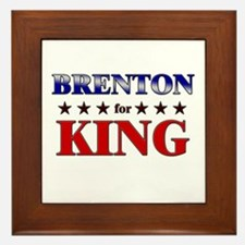 BRENTON for king Framed Tile