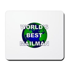 World's Best Mailman Mousepad