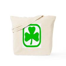 clover circle Tote Bag