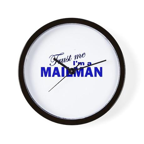 Trust Me I'm a Mailman Wall Clock