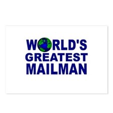 World's Greatest Mailman Postcards (Package of 8)