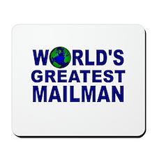 World's Greatest Mailman Mousepad