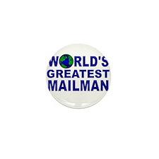 World's Greatest Mailman Mini Button