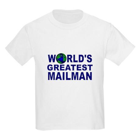 World's Greatest Mailman Kids Light T-Shirt