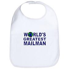 World's Greatest Mailman Bib