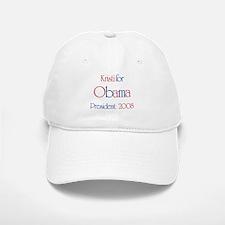 Kristi for Obama 2008 Baseball Baseball Cap