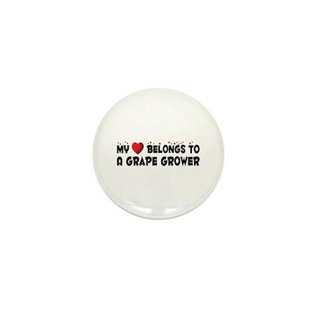 Belongs To A Grape Grower Mini Button (10 pack)