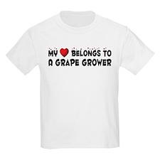 Belongs To A Grape Grower T-Shirt