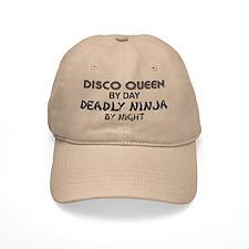 Disco Queen Deadly Ninja by Night Baseball Cap