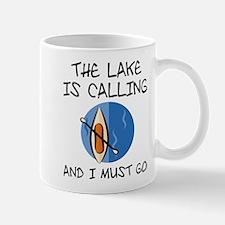 The Lake Is Calling Mug