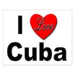 I Love Cuba Small Poster