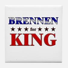 BRENNEN for king Tile Coaster