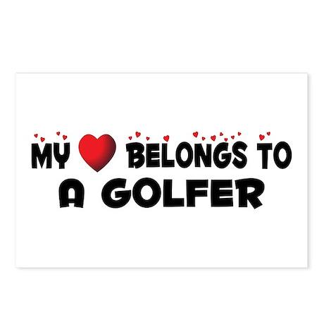Belongs To A Golfer Postcards (Package of 8)