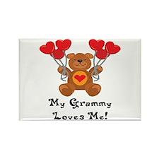 My Nana Loves Me! Rectangle Magnet (10 pack)