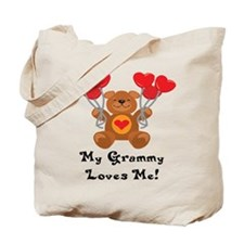 My Nana Loves Me! Tote Bag