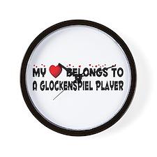Belongs To A Glockenspiel Player Wall Clock