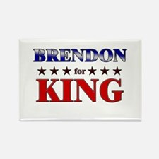 BRENDON for king Rectangle Magnet