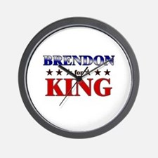 BRENDON for king Wall Clock