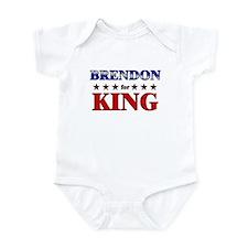 BRENDON for king Infant Bodysuit