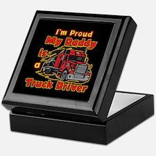 Proud of Daddy Keepsake Box