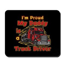 Proud of Daddy Mousepad