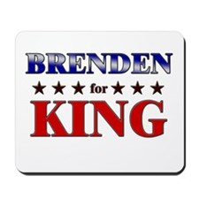 BRENDEN for king Mousepad