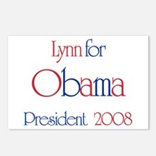 Lynn for Obama 2008 Postcards (Package of 8)