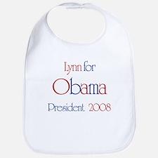 Lynn for Obama 2008 Bib