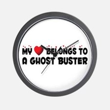 Belongs To A Ghost Buster Wall Clock