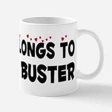 Belongs To A Ghost Buster Mug