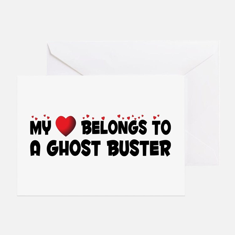 Belongs To A Ghost Buster Greeting Card