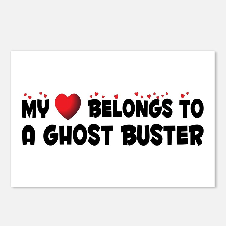 Belongs To A Ghost Buster Postcards (Package of 8)